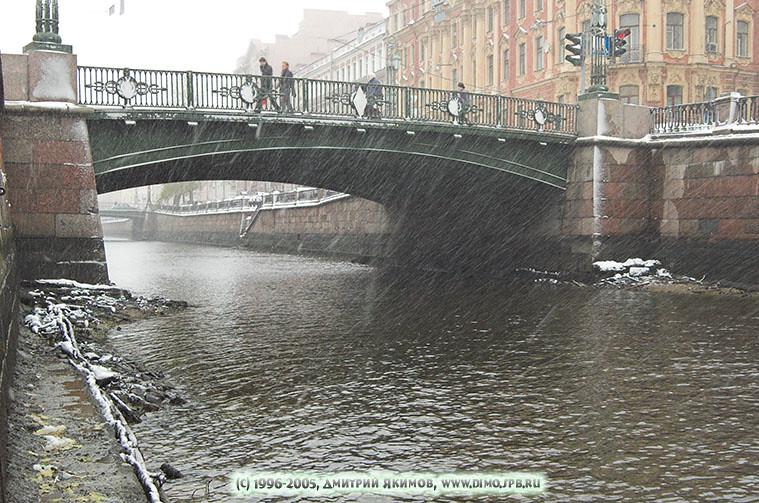 Канал Грибоедова. Фотографии рек и каналов Петербурга