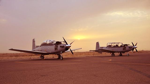 Iraqi Air Force T-6s القوة الجوية العراقية