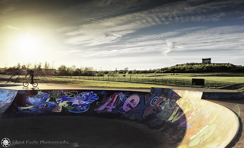 park boy sunset sky monument bike clouds canon garden photography paint colours shadows silent eagle outdoor country north east skate sep northeast penshaw herrington castellanus copyright© silenteaglephotography silenteagle09