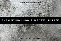The melting snow & ice texture pack
