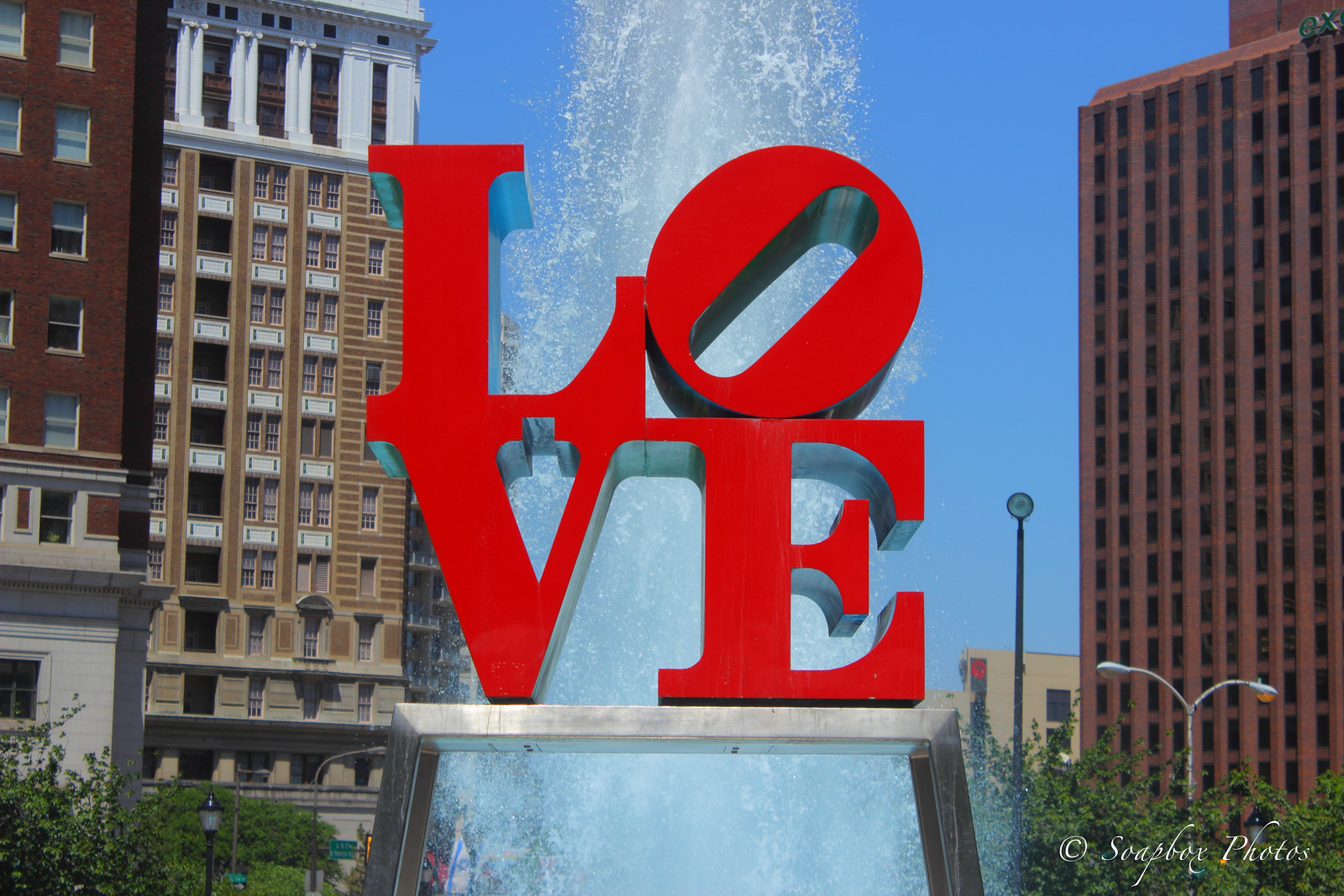 Love Park Fountain