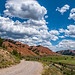 beautiful day at the Red Hills by Marvin Bredel