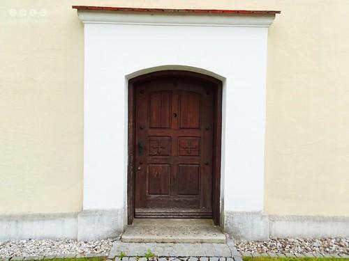 Wallfahrtskapelle St. Sebastian in Kammlach in  Bayerisch Schwaben