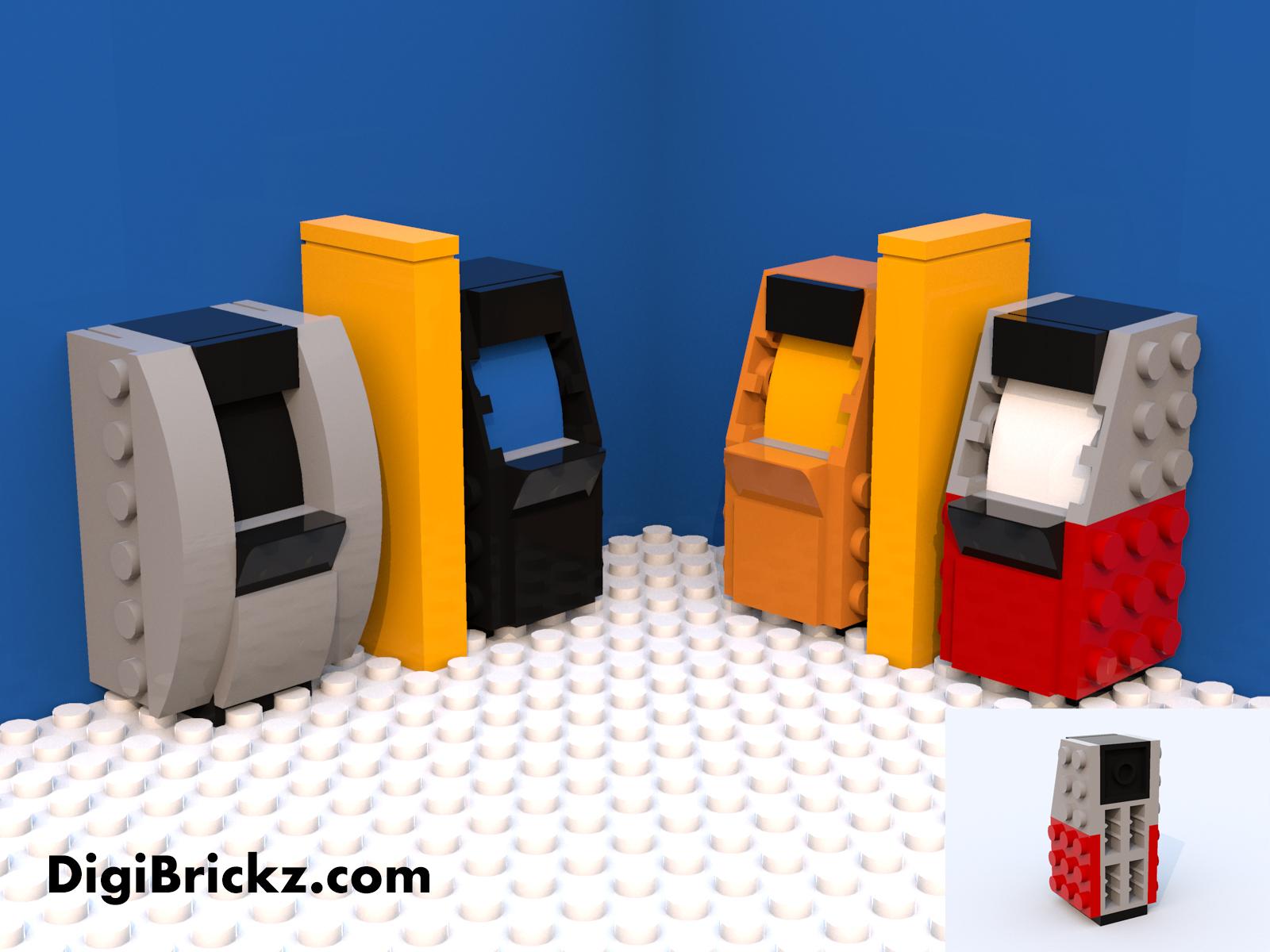 LEGO ATM Gallery by Kamal Muftie Yafi (KamalMYafi/Kamteey) | DigiBrickz.com