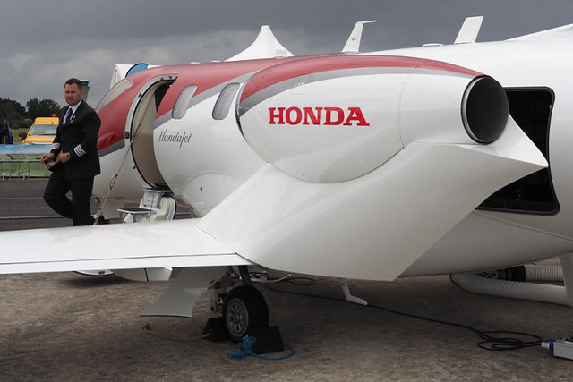 Take a Look Inside Honda's $4.5 Million Private Jet