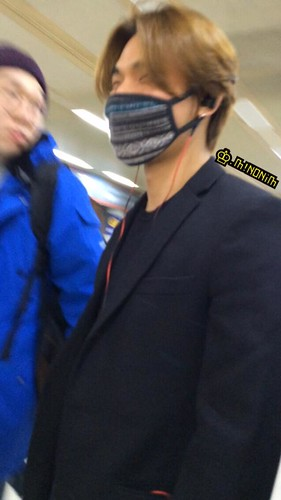 Dae Sung & TOP - Gimpo Airport - 01mar2015 - Dae Sung - mino930 - 03