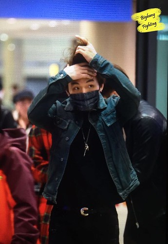 Big Bang - Incheon Airport - 27mar2016 - BigbangFighting - 03