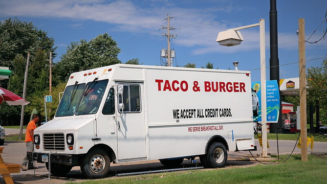 Taco & Burger Truck  in Des Moines, Iowa
