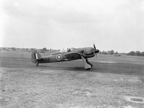 captured Focke Wulf Fw 190A-3 at the Royal Aircraft Establishment, Farnborough