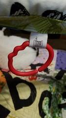 Ribbon ring for homemade diy play gym