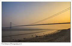 Humber Bridge from the north