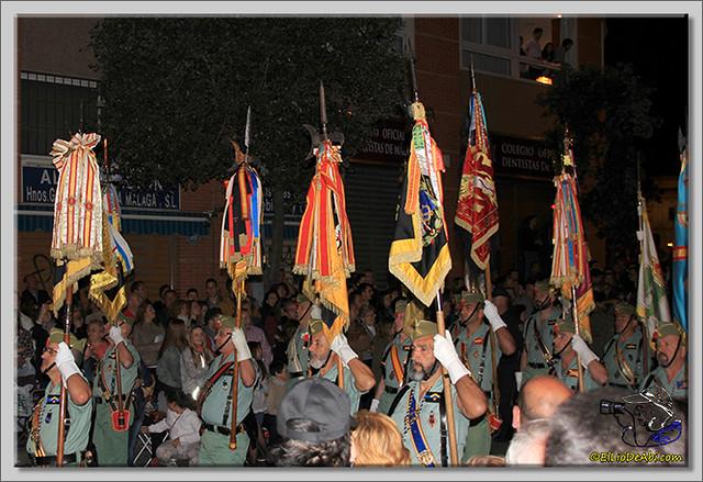 13 Semana Santa en Málaga. Cristo de Mena y Legionarios