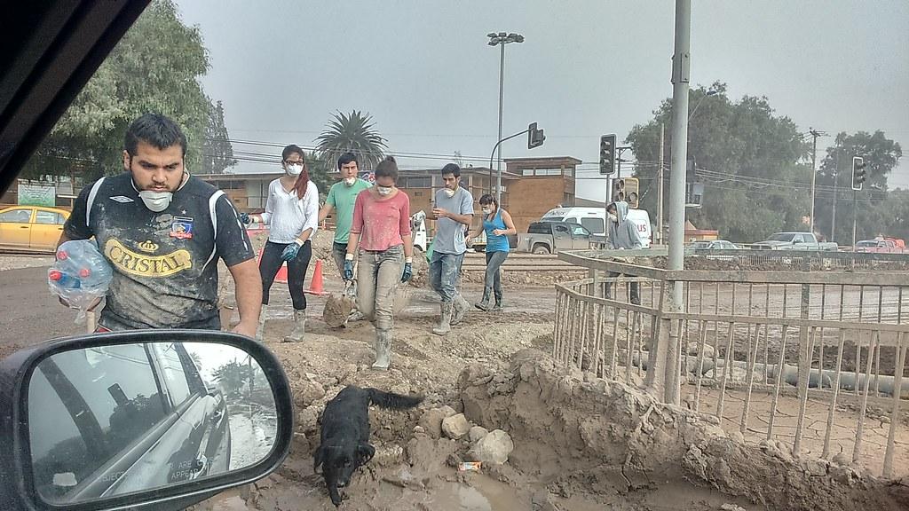 AFSAG Valparaíso va en ayuda de Copiapó. Revise impactantes imágenes -- Abril 2015