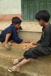 school yard entertainment - Vietnam
