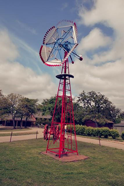 Woolaroc Windmill
