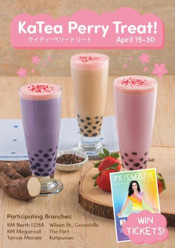 Tokyo Bubble Tea KaTea Perry Treat