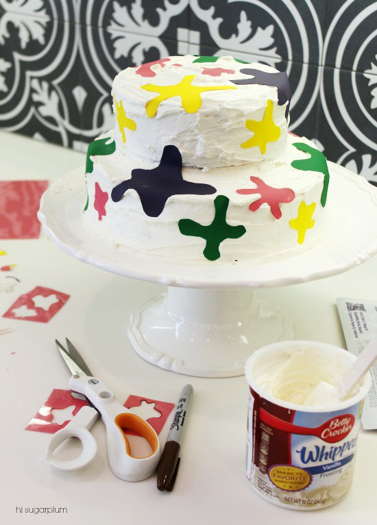 Hi Sugarplum | Art Party Splatter Cake