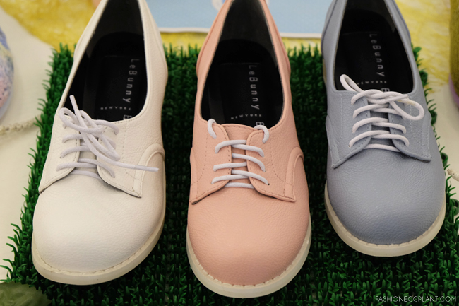 LE BUNNY BLEU PASTEL OXFORDS