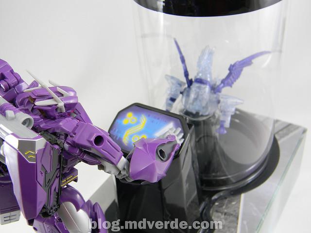 Transformers Shockwave Voyager - Generations SDCC Exclusive (Shockwave's Lab) - modo Shockwave's Lab