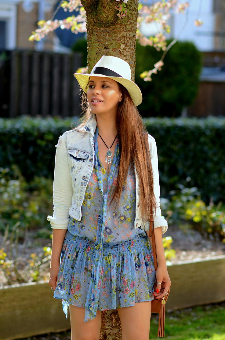 DSC_7994 Tamara Chloé. Panama Hat, Gucci Soho Bag, Floral Zara Dress2