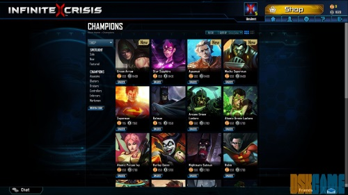 Infinite Crisis - Héroes y Villanos