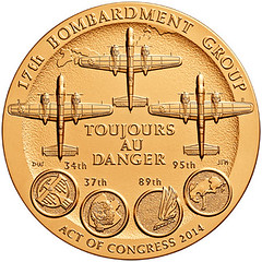 Doolittle Tokyo Raiders Congressional Gold Medal reverse