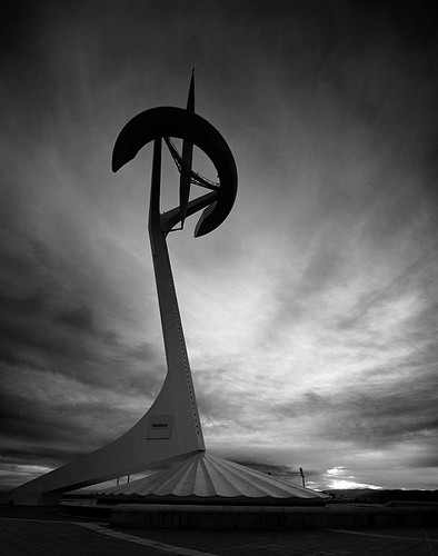 Barcelona, Calatrava's Montjuïc Communications Tower | by Spkennedy3000 - Architectural Photographer