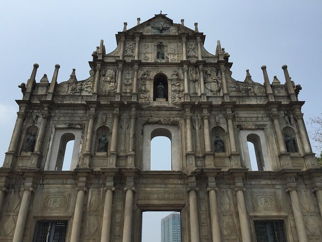 Ruins of St. Paul's, Ruínas da Antiga Catedral de São Paulo, Macau, 大三巴, 大三巴牌坊, 聖保祿大教堂遺址, 澳門
