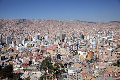 city del america la view south paz bolivia ciudad du sur su sir bolivien amérique südamerica