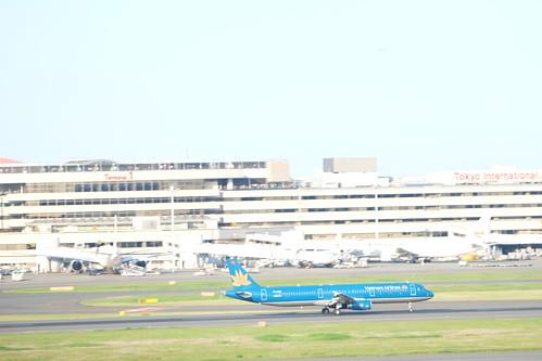 Haneda Tokyo International Airport 28 Vetnam Airline