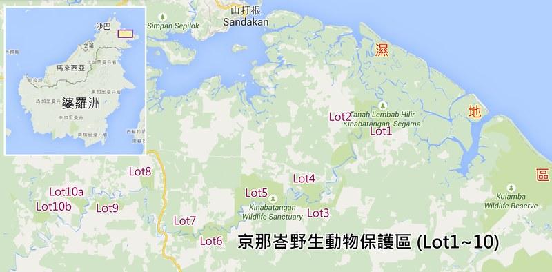 馬來西亞京那峇野生動物保護區。(陳文姿提供)