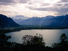 Tip of Lac Léman, Montreux