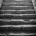 Underground steps at Zolochiv Castle
