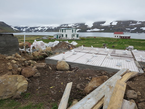 Rebuilding a home in Hesteyri, Hornstrandir Nature Reserve, Iceland