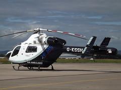 G-KSSH Explorer MD900 Helicopter Specialist Aviation Services Ltd