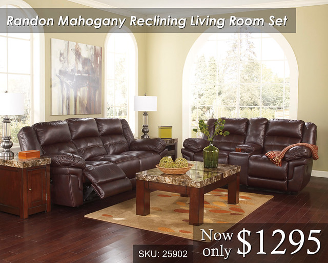 Randon Reclining Living Set