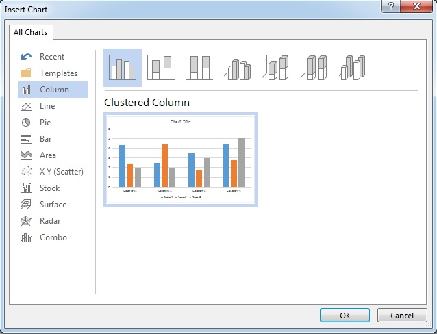 How to create a histogram in word 2013 itushare word 2013 insert chart ccuart