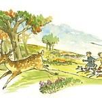 A norman deer hunt