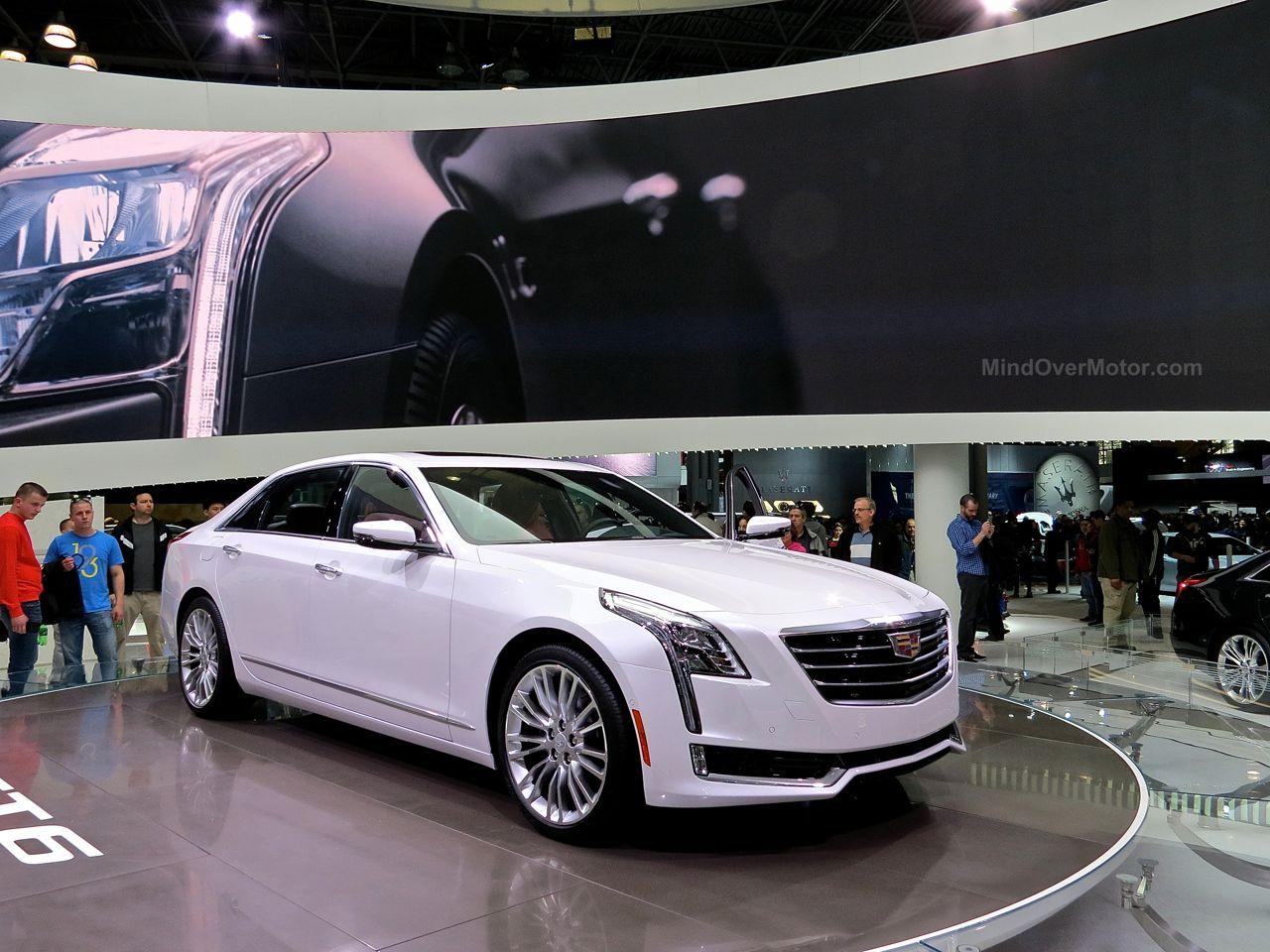 NYIAS 2015 Cadillac CT6
