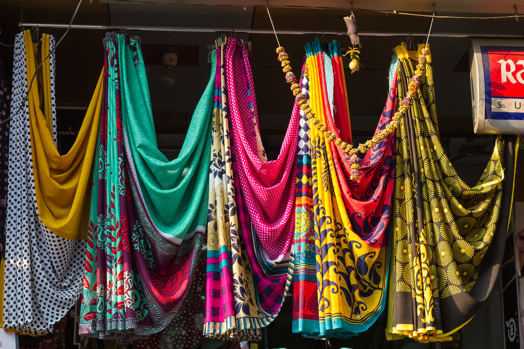 Saree Fabrics, Dharavi