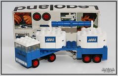 Legoland 644 Doppeltank-Sattelschlepper 1971