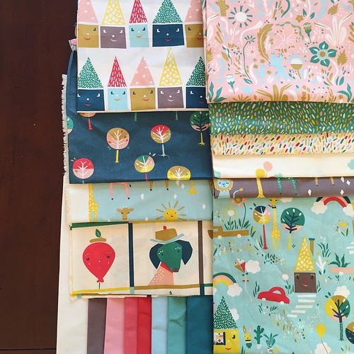 Happy Town Fabrics by Emily Isabella for Birch Fabrics