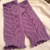 Herbaceous Mitts finished. Making a birthday gift pair next. #thumbshavebeenconquered