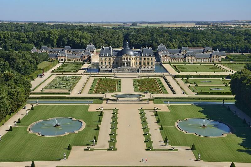 Le domaine de Vaux-le-Vicomte