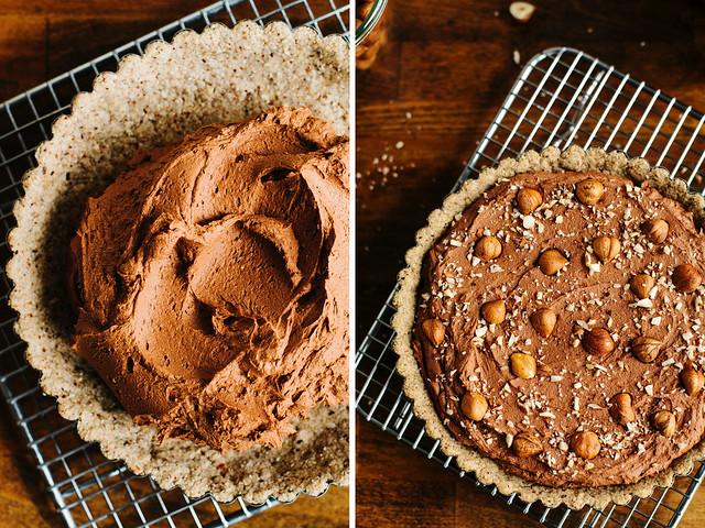 Chocolate-hazelnut tart with maple ganache + a giveaway | Oh ...