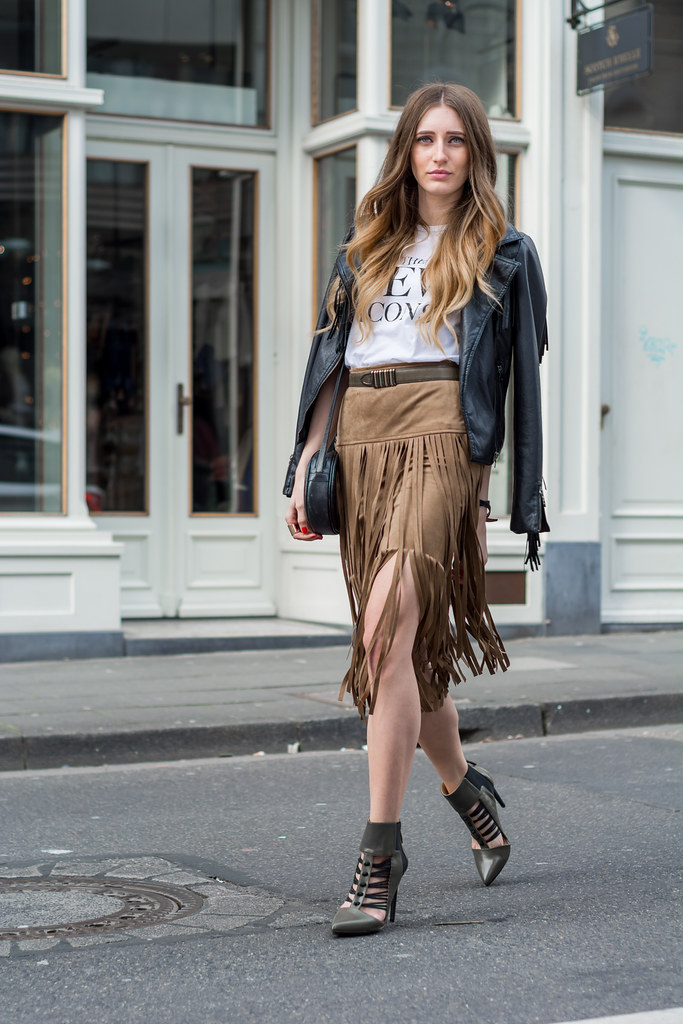 The perfect Fringe Skirt & Gwen Stefani x JustFab | Lisa Fiege