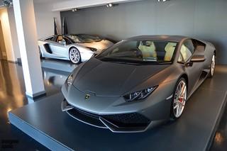 Huracan and Aventador