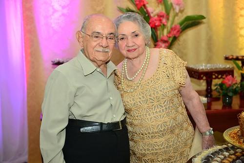 O casal Metri e Elza Nicolau