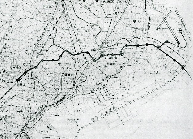 東京湾横断道路(アクアライン)併用モノレール計画(未成線) (2)