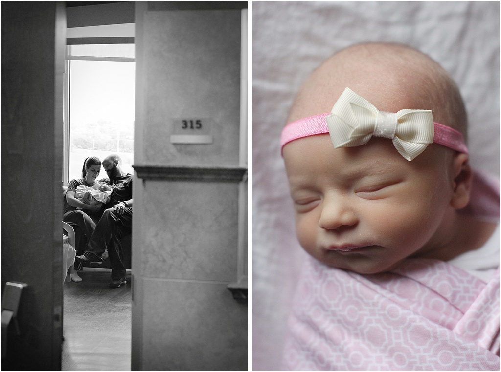 Fresh 48 Newborn Kansas City Photography Session